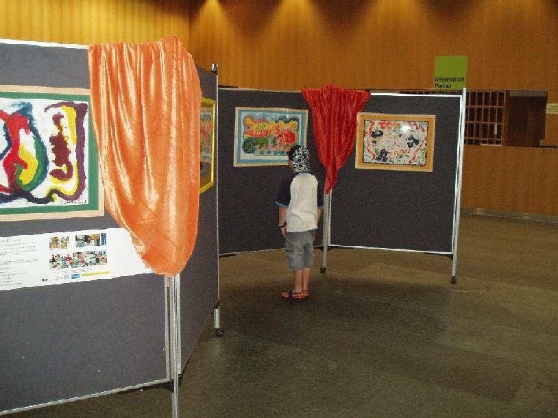 ProjektKunstprojekt2008/Ausstellung1.JPG